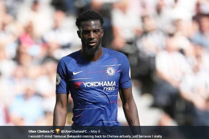 Gelandang bertahan Chelsea, Tiemoue Bakayoko