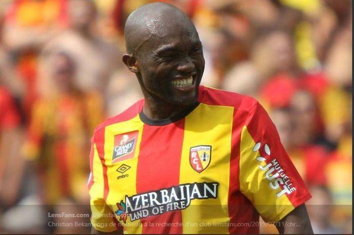 Christian Bekamenga saat membela RC Lens.