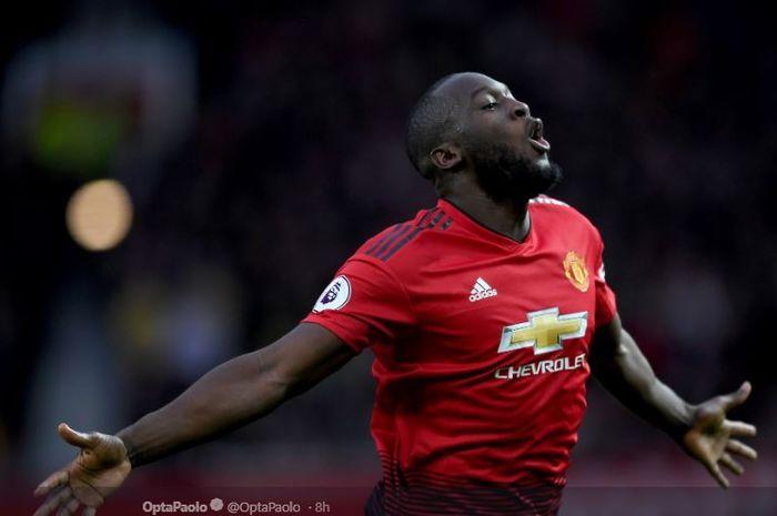 Striker Manchester United, Romelu Lukaku, jadi bidikan Inter Milan pada bursa transfer musim panas 2019.