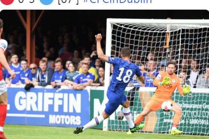 Andalkan Anak Kesayangan, Frank Lampard Bawa Chelsea Menang Telak - Bolasport.com