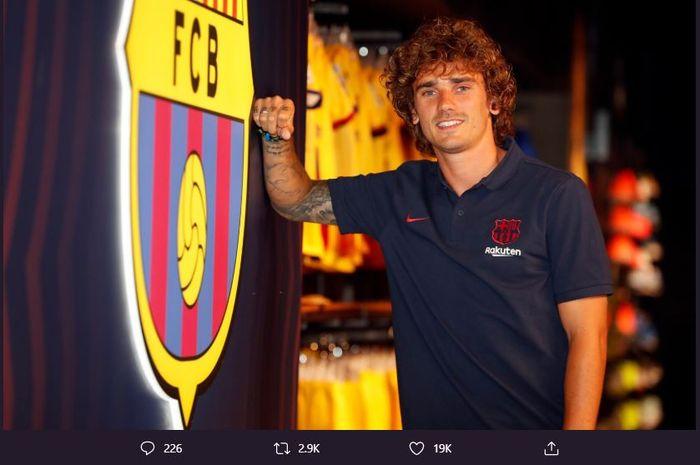 Pemain baru Barcelona, Antoine Griezmann