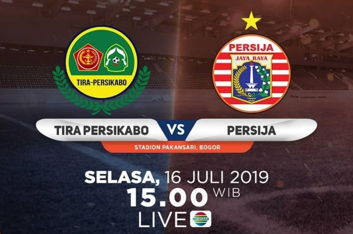 PS Tira Persikabo vs Persija Jakarta