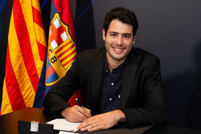 Pemain tim basket Barcelona, Alex Abrines.