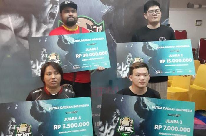 Meat dan TJ menjadi perwakilan Indonesia untuk SEA Games 2019 cabang Tekken 7
