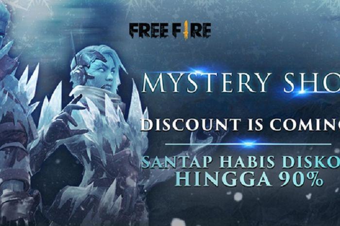Garena Free Fire Indonesia menghadirkan Mystery Shop dan Back To School Event.