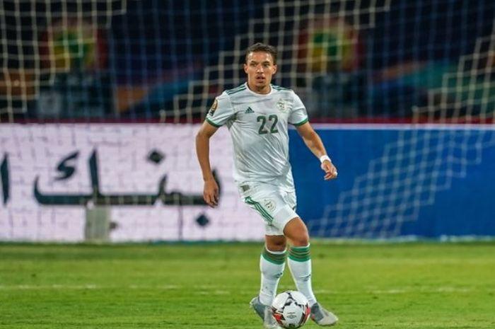 Ismael Bennacer Saat Berlaga Di Piala Afrika 2019