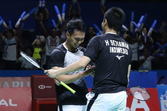 Mohammad Ahsan/Hendra Setiawan, ganda putra Indonesia berjuluk The Daddies