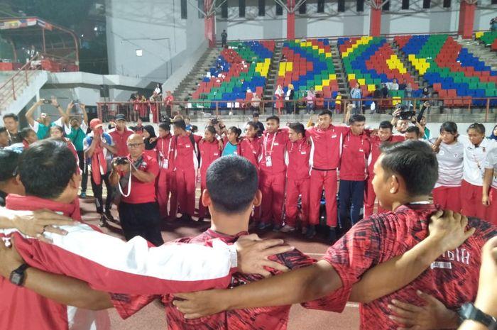 Hasil gambar untuk Atletik Juara Umum ASEAN Schools Games 2019