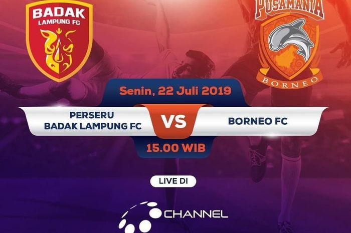 Perseru Badak Lampung FC vs Borneo FC