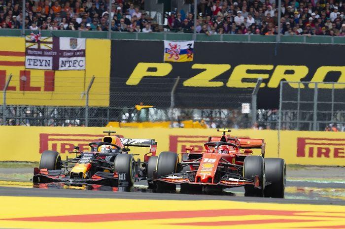 Kelanjutan rivalitas antara Max Verstappen (kiri) dan Charles Leclerc (kanan) menjadi salah satu yang dinanti saat F1 2019 memasuki seri ke-11 di Jerman, 26-28 Juli 2019
