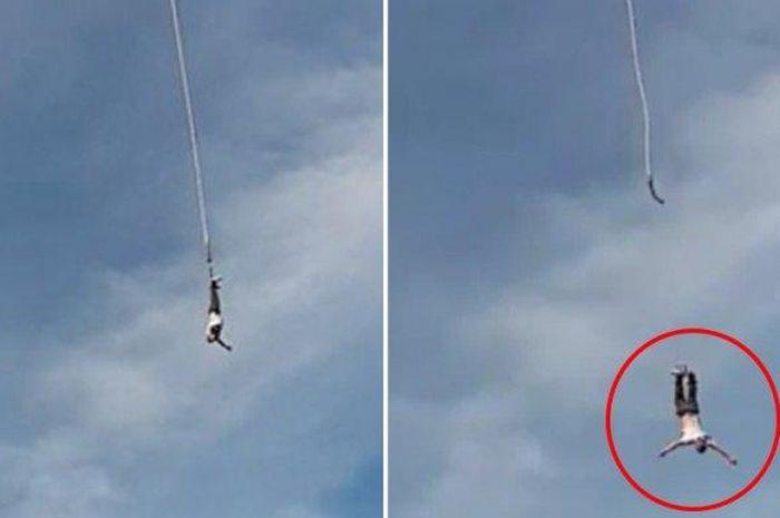 Terjun Bebas Dari Ketinggian 100 Meter Akibat Tali Bungee Jumpingnya Putus Pria Ini Selamat Dan Masih Bisa Berjalan Semua Halaman Grid Hot