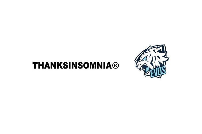 Tim EVOS Esports jalin kolaborasi dengan brand fashion, Thanksinsomnia