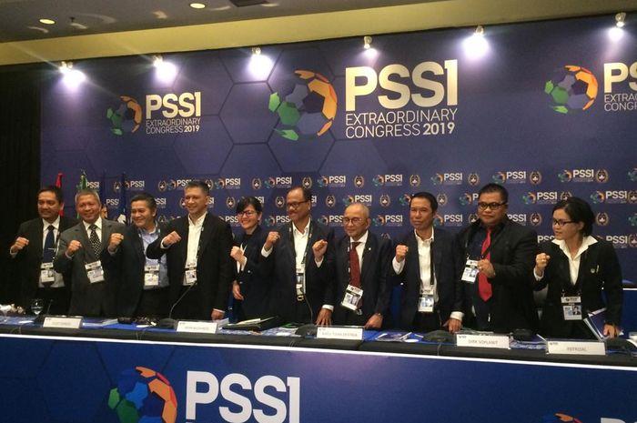 Kongres PSSI digelar di Hotel Mercure, Ancol, Jakarta Utara, Sabtu (27/7/2019).