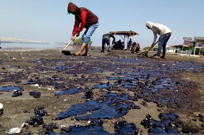 tumpahan minyak di Kepulauan Seribu