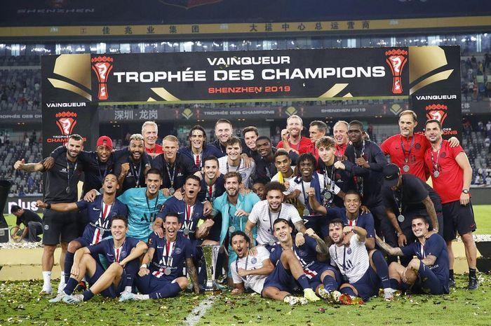 Paris Saint-Germain berhasil menjadi juara Piala Super Perancis 2019
