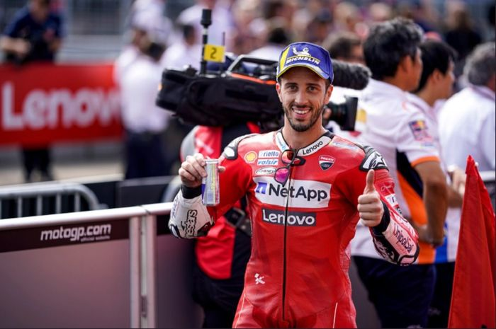 Andrea Dovizioso (Ducati) sukses mengakhiri sesi balapan MotoGP Republik Ceska 2019 pada Minggu (4/8/2019) dengan finis sebagai runner up.
