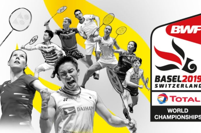 POSTER TOTAL BWF World Championships 2019