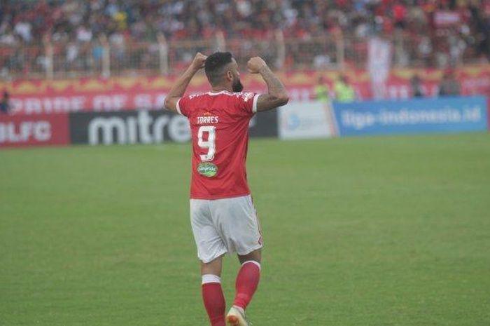 Francisco Wagsley 'Torres' dipastikan tak akan memperkuat Perseru Badak Lampung FC pada putaran kedua Liga 1 2019