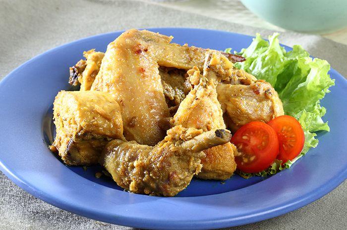 Resep Ayam Kuning Bumbu Jeruk Enak Bisa Dibuat Dengan 3 Langkah Mudah - Sajian Sedap