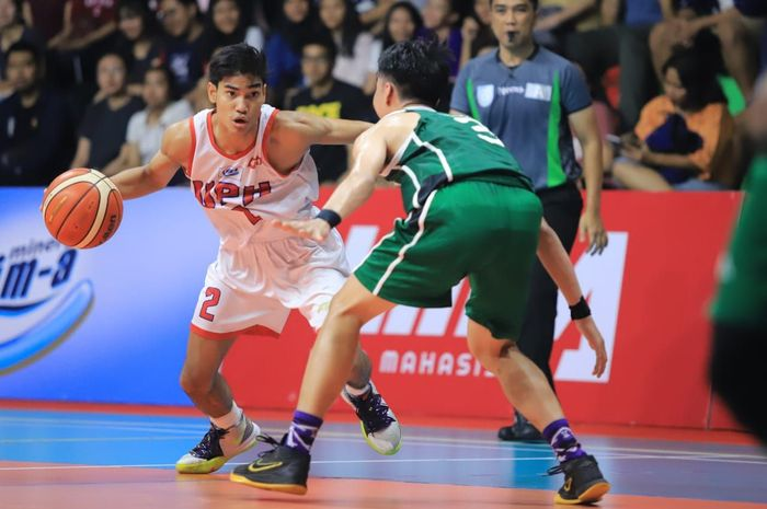 LIMA Basket Nationals, aksi Perbanas versus UPH.