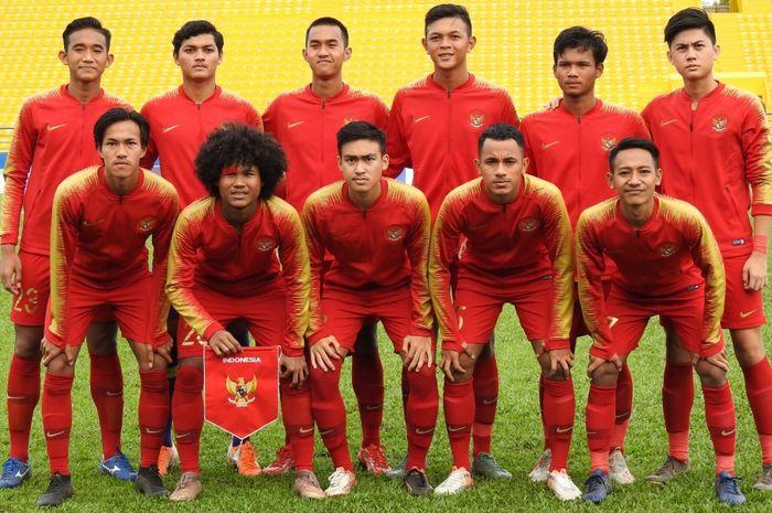 Skuat Timnas U-18 Indonesia di Piala AFF U-18 2019