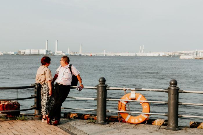 Suasana di Yokohama yang kerap dijuluki kota pelabuhan. Shot on OPPO Reno 10x Zoom.