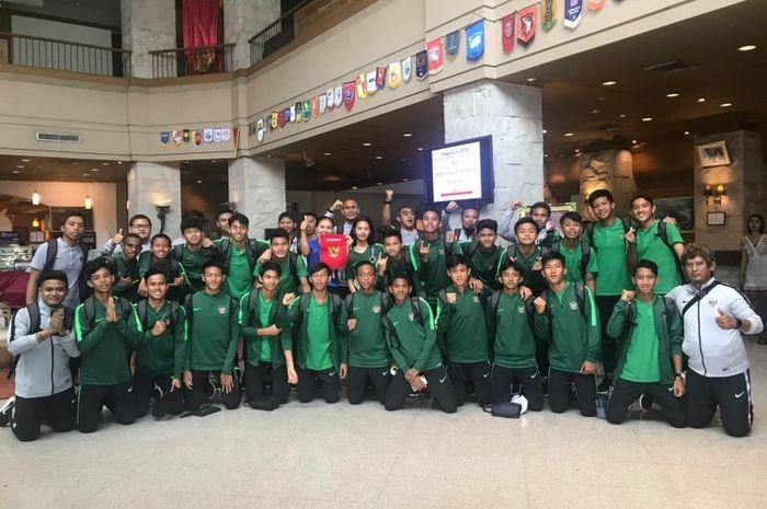 Timnas U-15 Indonesia, berangkat ke Myanmar untuk memenuhi undangan mengikuti turnamen Boys Elite Football Tournament 2019 di Myanmar pada 14-18 Agustus 2019.