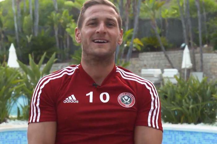 Kapten Sheffield United, Billy Sharp.