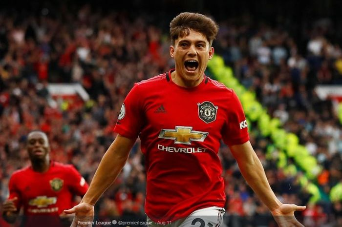 Winger Manchester United, Daniel James.