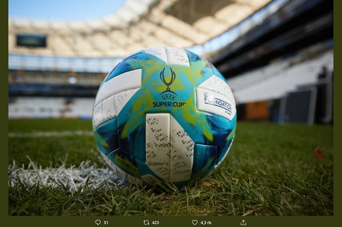 Link live streaming Liverpool Vs Chelsea Piala Super Eropa 2019.