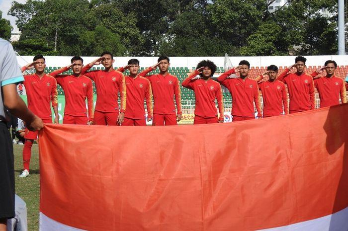 Timnas U-18 Indonesia di ajang Piala AFF U-18 2019