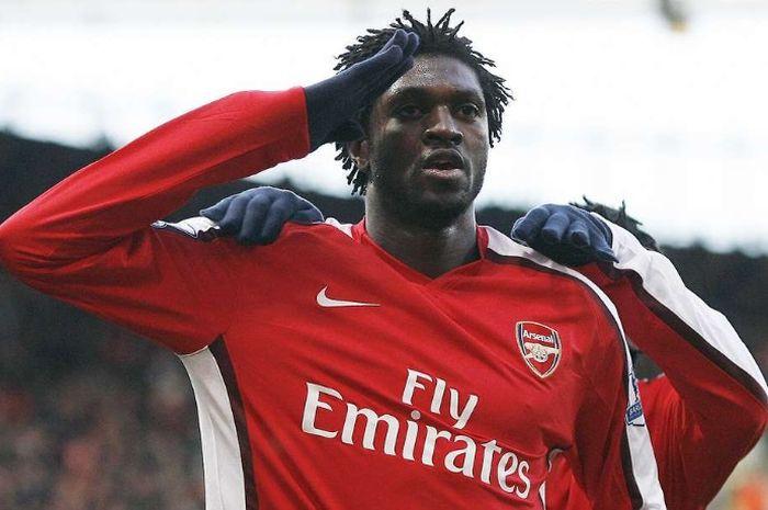 Emmanuel Adebayor ketika berseragam Arsenal