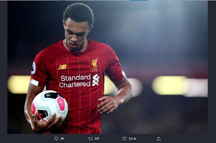 Bek kanan Liverpool, Trent Alexander-Arnold.