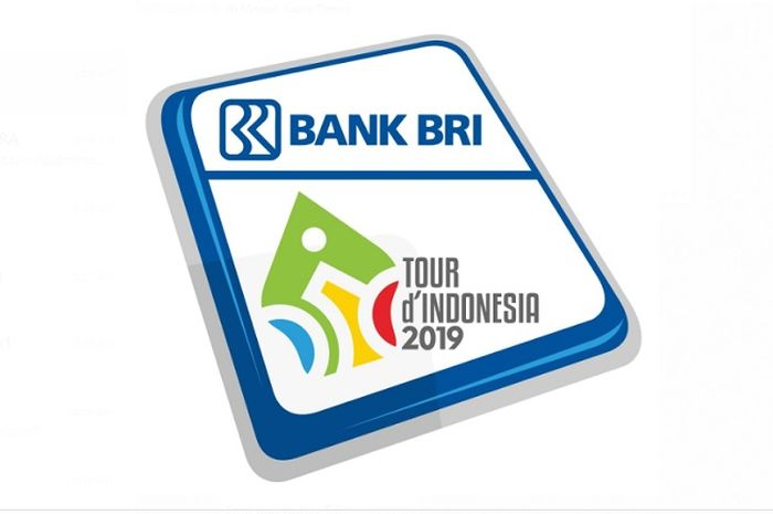 Logo event balap sepeda Tour d'Indonesia 2019