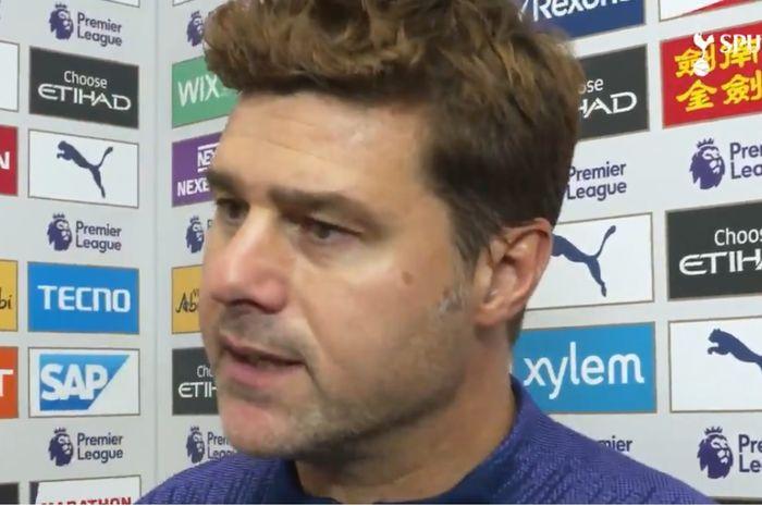 Pelatih Tottenham Hotspur, Mauricio Pochettino.