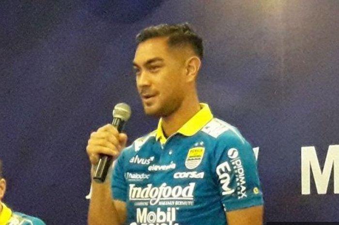 Omid Nazari, pemain anyar Persib Bandung.
