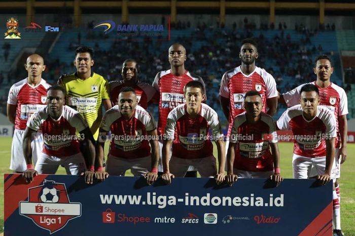Skuat Persipura Jayapura di Liga 1 2019.
