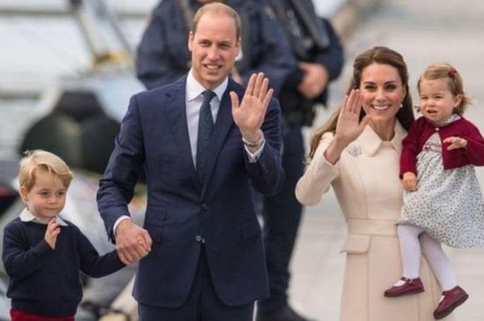 Bawa Serta Ketiga Anaknya, Pangeran William dan Kate Middlton Dipuji Karena Pakai Penerbangan Murah Cuma Rp 1 Juta