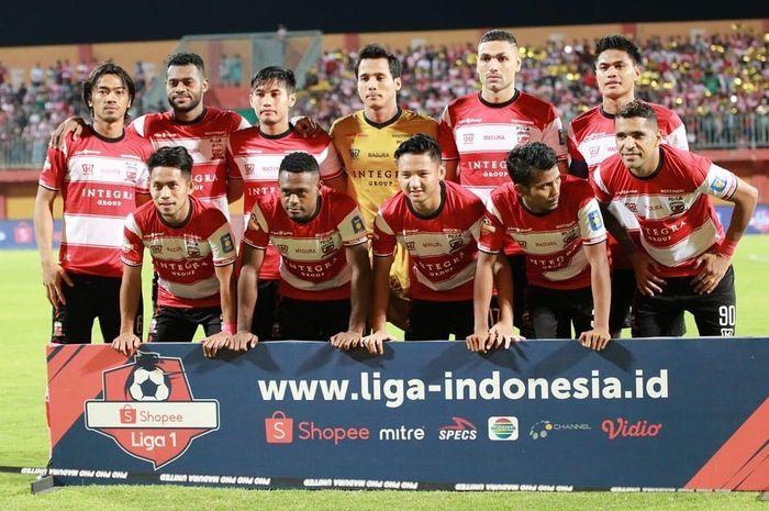 Foto tim Madura United.