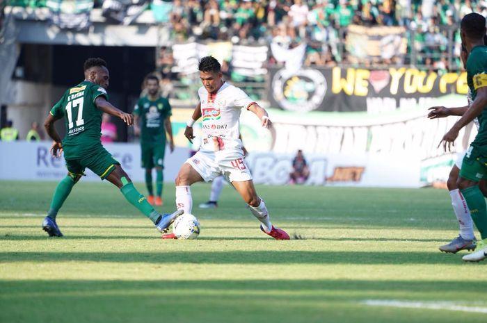 Persebaya vs Persija pada laga pekan ke-16 Liga 1 2019 di Stadion Gelora Bung Tomo, Sabtu (24/8/2019).