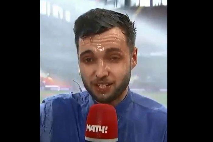 Evgeniy Evnevich, reporter Match TV asal Russia.