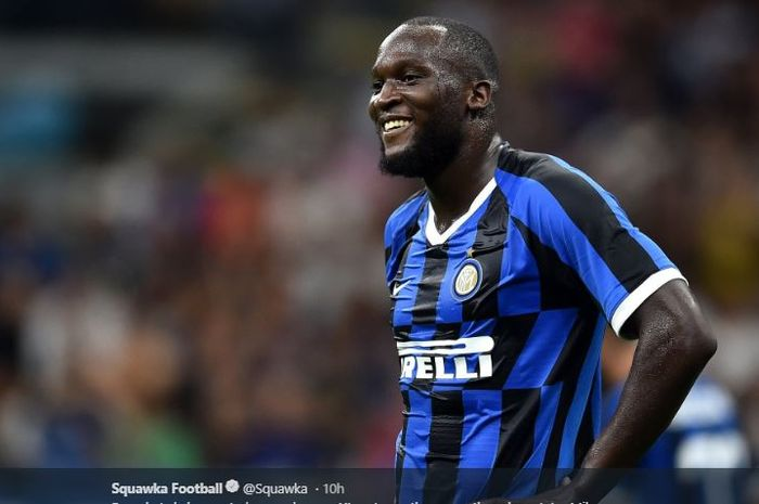 Penyerang Inter Milan, Romelu Lukaku.