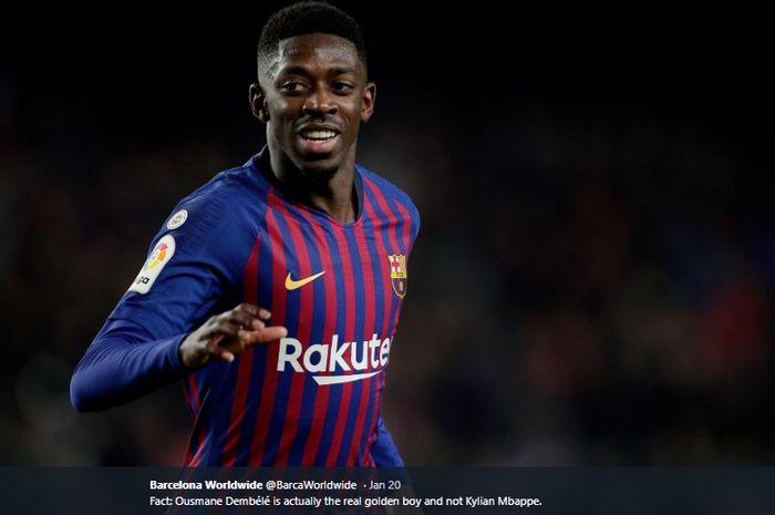 Winger Barcelona, Ousmane Dembele.