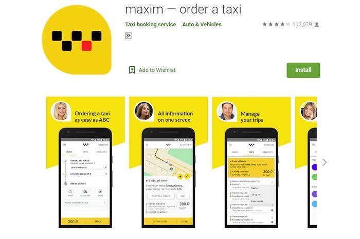 Taksi Online Maxim Hadir Di 11 Kota Indonesia Sempat Disegel Driver Aplikasi Lain Karena Tarifnya Murah Semua Halaman Nextren Grid Id