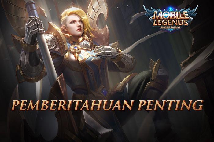 Pemberitahuan penting dari pihak Mobile Legends terkait update Versi Cepat