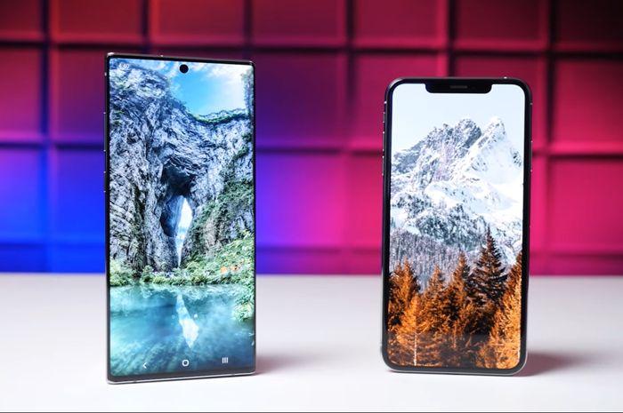 Samsung Galaxy Note 10+ vs iPhone XS Max