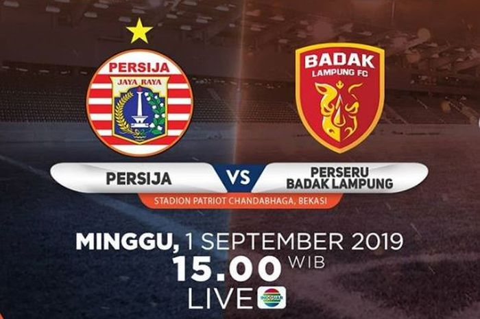 Persija Jakarta vs Perseru Badak Lampung FC