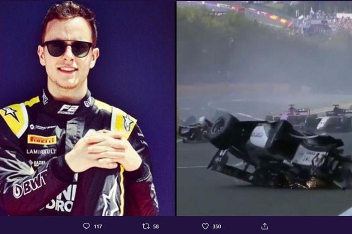 Pembalap Formula 2 asal Perancis, Anthoine Hubert yang tewas setelah mengalami insiden tabrakan di Grand Prix Belgia.