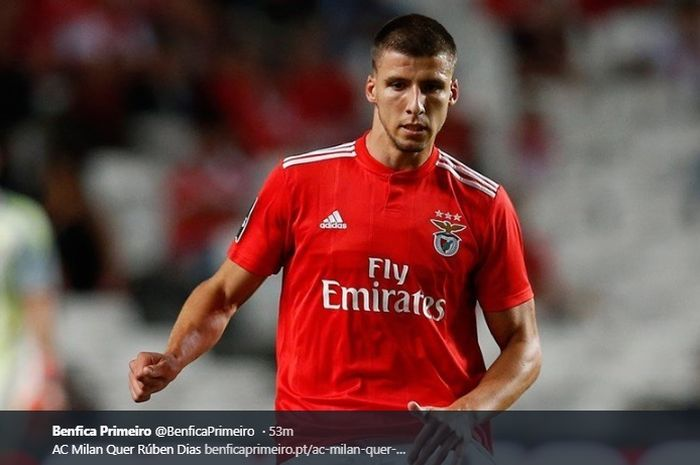 Bek tengah Benfica, Ruben Dias, dirumorkan menjadi target Manchester United pada bursa transfer musim dingin 2020.