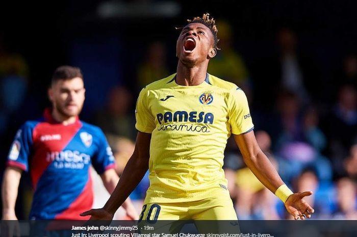 Striker Villarreal, Samuel Chukwueze.